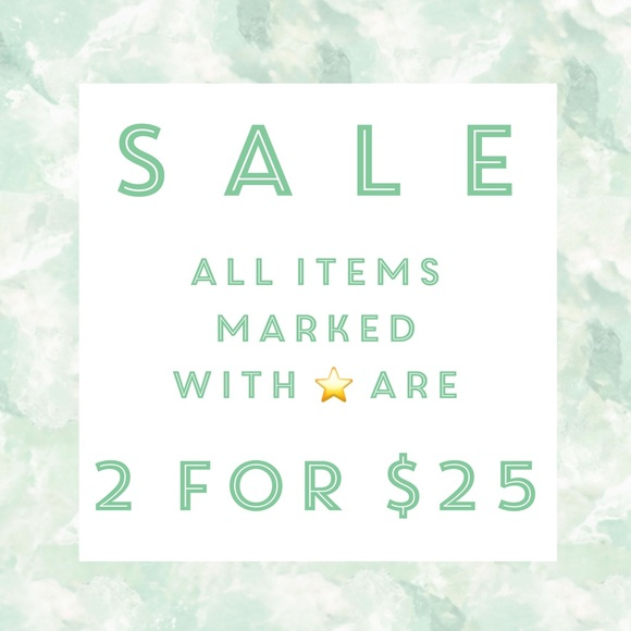 Other - Bundle 2 Items With A ⭐️ for $25!